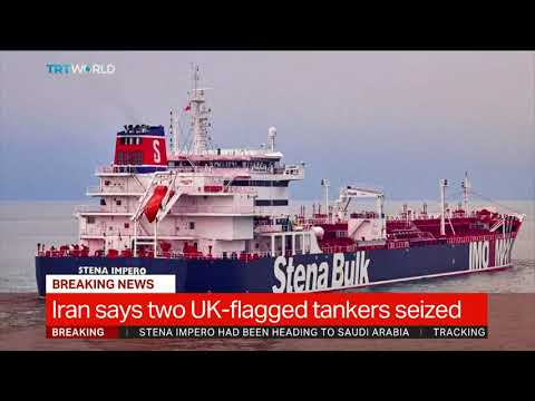 UK accuses Iran of breaking deal with oil transfer to Syria