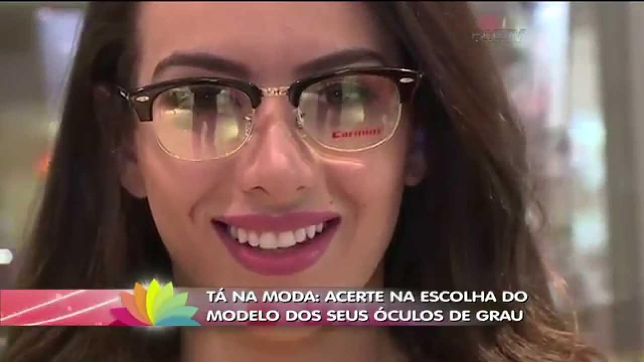 3421434a4 TÁ NA MODA com Carolina Bastos: Óculos de Grau - YouTube