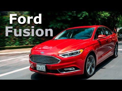 Ford Fusion 2017 - estrena rostro y motor.