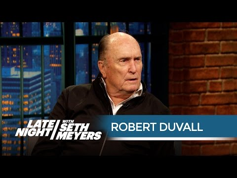 Robert Duvall: Marlon Brando Had Script Cheat Sheets on the