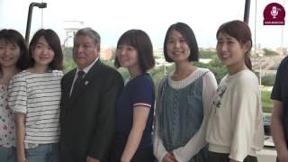 Tema: Visita de estudiantes de la Universidad de Yamagata-Japón
