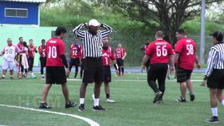 PFL RED SHARKS VS SOLDIERS SEMANA 6 2015 2016