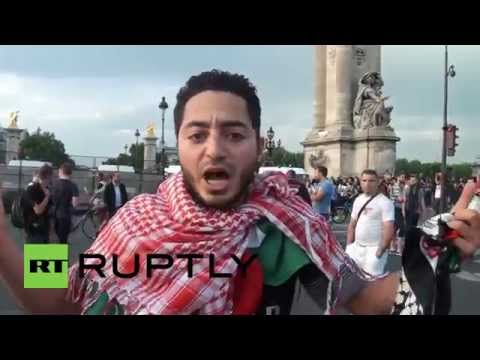 France: Thousands rally against Israel at pro-Palestine protest in Paris