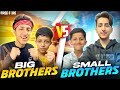 Big Brothers Vs Small Brothers 😂 2 Vs 2 Clash Battle 50,000 Rupees Challenge 😍 - Garena Free Fire