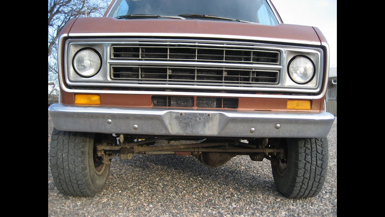 1976 Ford Van 4x4 FOR SALE - YouTube
