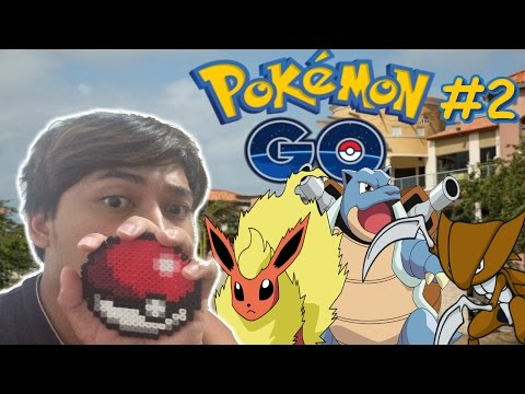 Hunting At Palm Beach Plaza - Pokemon Go Vlog #2 w/The Crew