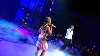 "Joshua Ledet feat. Hanin Dhiya ""Somewhere Out There"" - Mega Konser Dunia"