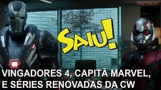 VINGADORES ULTIMATO, CAPITÃ MARVEL, SEX EDUCATION, VOCÊ E SÉRIES RENOVADAS DA CW | NERD SAIU