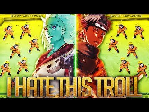 ** THIS TROLL IS TOP TIER GG BANDAI *   ** Naruto Ultimate Ninja Blazing *