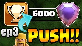 GOODBYE PROMISED LAND! | TH11 Trophy Push to Top 200 LIVE STREAM ep3 | Clash of Clans