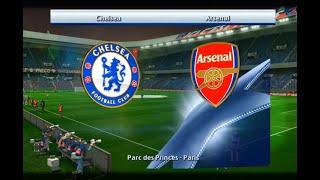 UEFA Champions League ARSENAL-CHELSEA PES-2013 СЕЗОНА 2018:ИГРАЕМ С ДРУГОМ