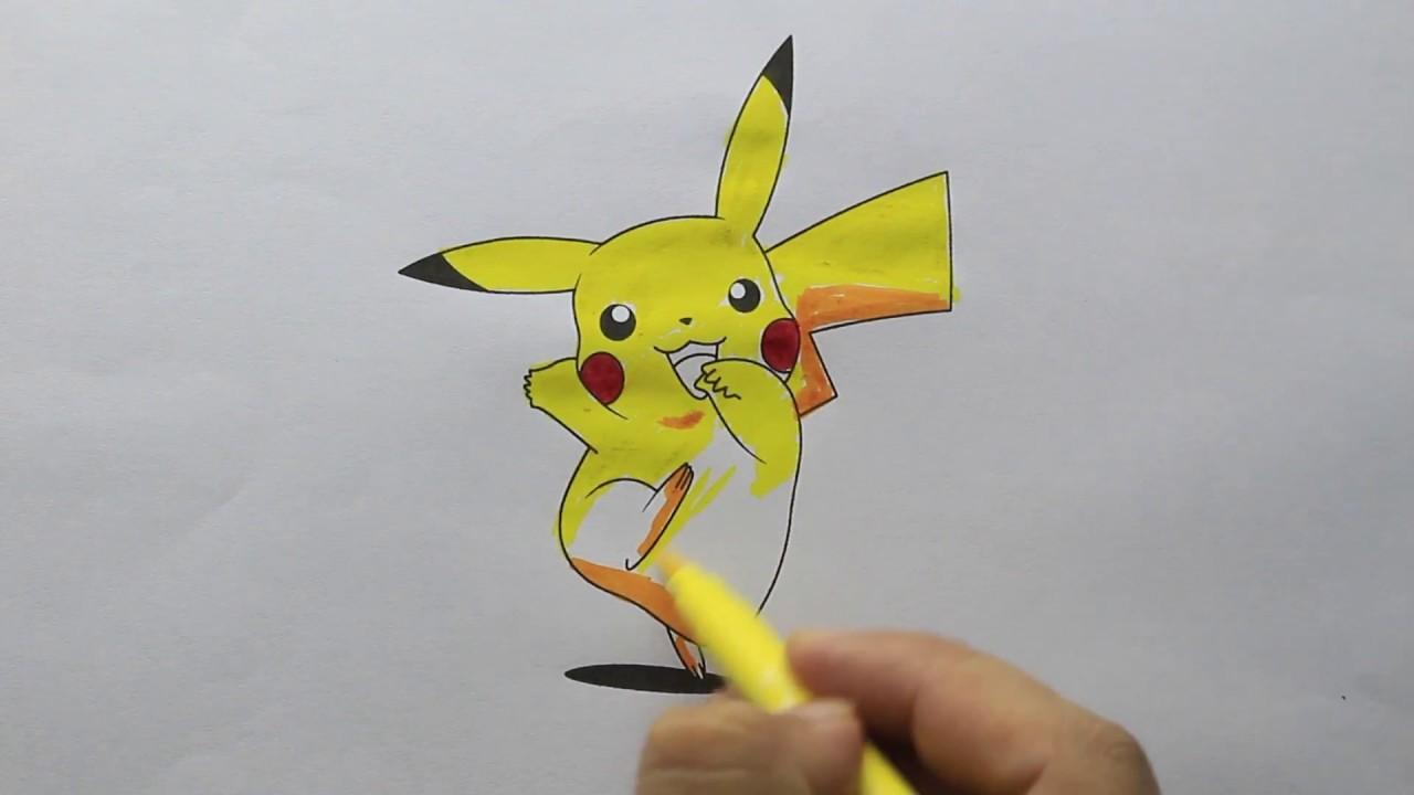 Pikachu Boyama Youtube