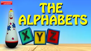 Alphabet Song for Children, ABC Song - Famous English Nursery Rhymes