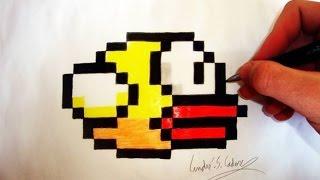 Como Desenhar o Flappy Bird - (How to Draw Flappy Bird) - SLAY DESENHOS #51