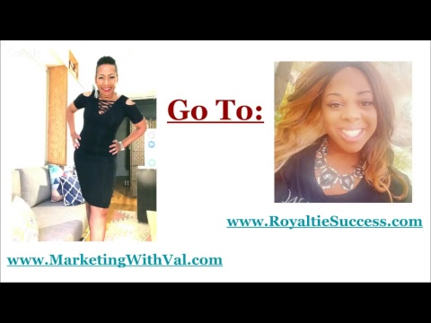 ROYALTIE GEMS: THE CURE FOR NETWORK MARKETING CANCER | Valerie Love & JaTaya Wiley