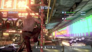 """Resident Evil 6 Glitches - Catwalk Shortcut To The Ground on """"Urban Chaos"""""""