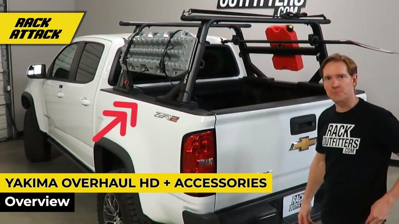 Yakima Overhaul Hd Truck Rack Accessories Youtube