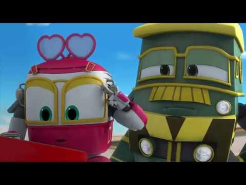 Robot trains serie tv prescolare trailer youtube