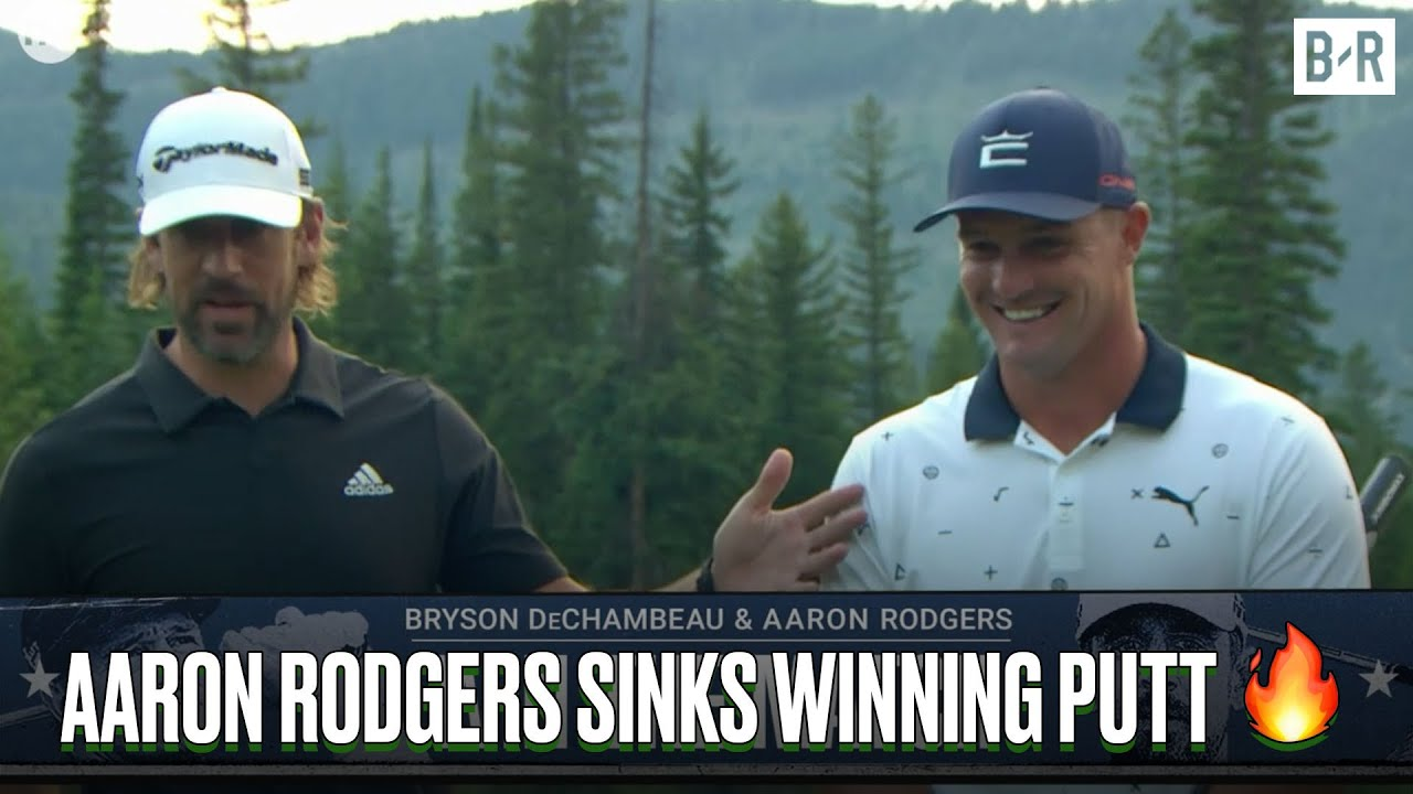 Bryson DeChambeau and Aaron Rodgers won The Match, and so ...