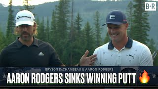 Aaron Rodgers & Bryson DeChambeau Take Down Tom Brady & Phil Mickelson In The Match