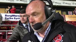 Uwe Rosler on first leg defeat at Bradford City | Post Match