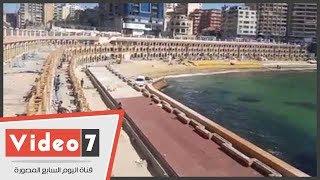 نرصد تطوير كبائن ستنالى السياحية بالإسكندرية من خرابة لتحفة معمارية