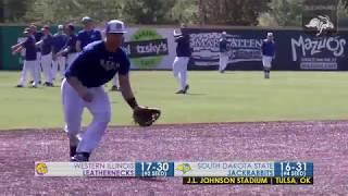 Baseball vs Western Illinois Highlights (05.24.2018)