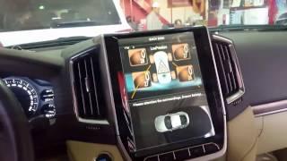 Toyota Land Cruiser 200 2016 Tesla Screen Штатная мультимедийная система