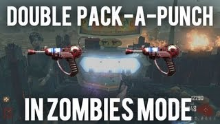 *NEW* Black Ops 2 Zombies- How to Double Pack-A-Punch Your Weapon!