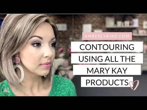 How to Contour your face using Mary Kay Products