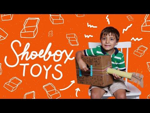 Recycled Shoebox Toys