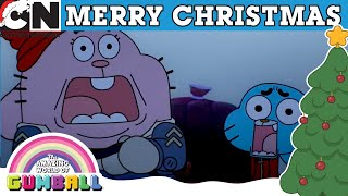 The Amazing World of Gumball | Joyride in Santa's Sleigh | Cartoon Network UK