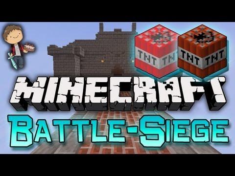 Minecraft: Battle-Siege 3 Mini-Game! w/Mitch & Friends!