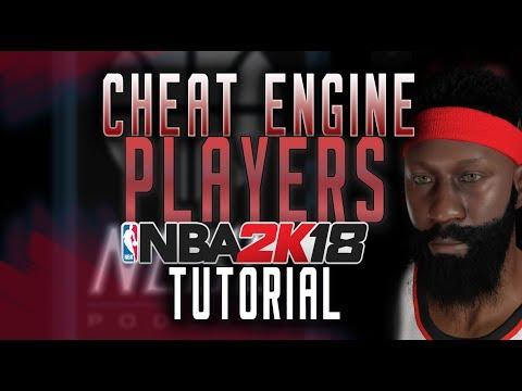 NBA 2K18 PC Cheat Engine Edit Player Table