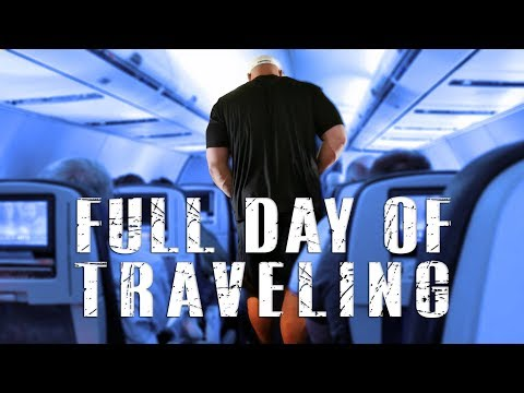 FULL DAY OF TRAVELING | FITTING INTO AN AIRPLANE | BRIAN SHAW