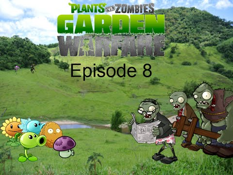 Plants Vs Zombies Garden Warfare Plush Series Episode 8 Newspaper Zombie Youtube