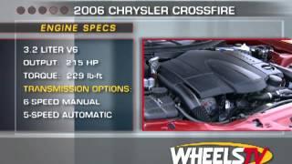2006 Chrysler Crossfire Roadster Test Drive