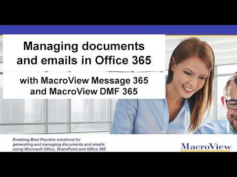 Introducing MacroView Message and MacroView DMF