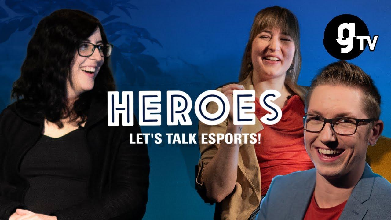 Karriere im E-Sport –wie geht das denn? | mit Kiara Hufnagel und Jana Möglich | HEROES #03 | gTV