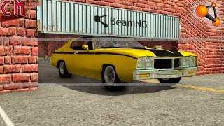 Low Clearance Crashes BeamNG Drive
