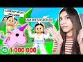 My SPOILED DAUGHTER Made Me Spend ALL MY ROBUX On A NEON UNICORN! - ROBLOX - Adopt Me