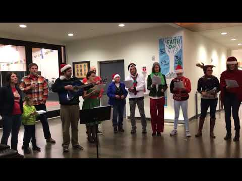 Holiday Caroling at Cascades Academy