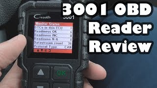 3001 OBD Code Reader/ Scanner - Review