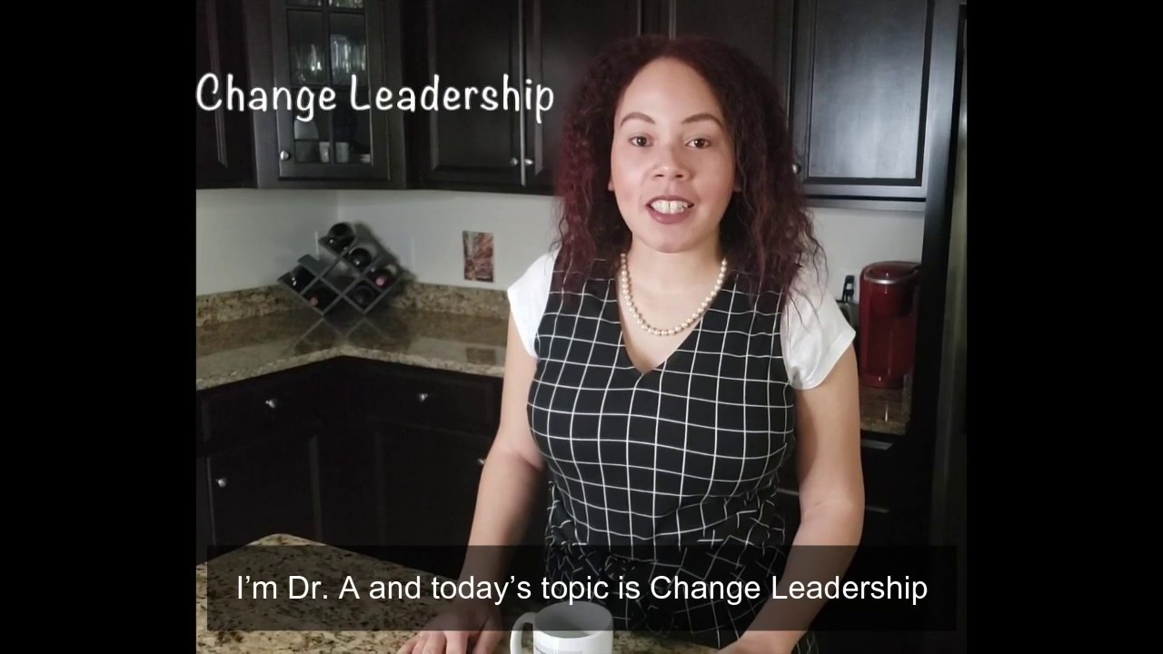 One Minute Refresh: Change Leadership