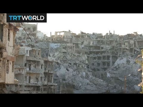 The War in Syria: Families return to damaged homes in Homs
