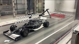 Baixar FIRST LOOK: Formula 1's 2021 car in the wind tunnel