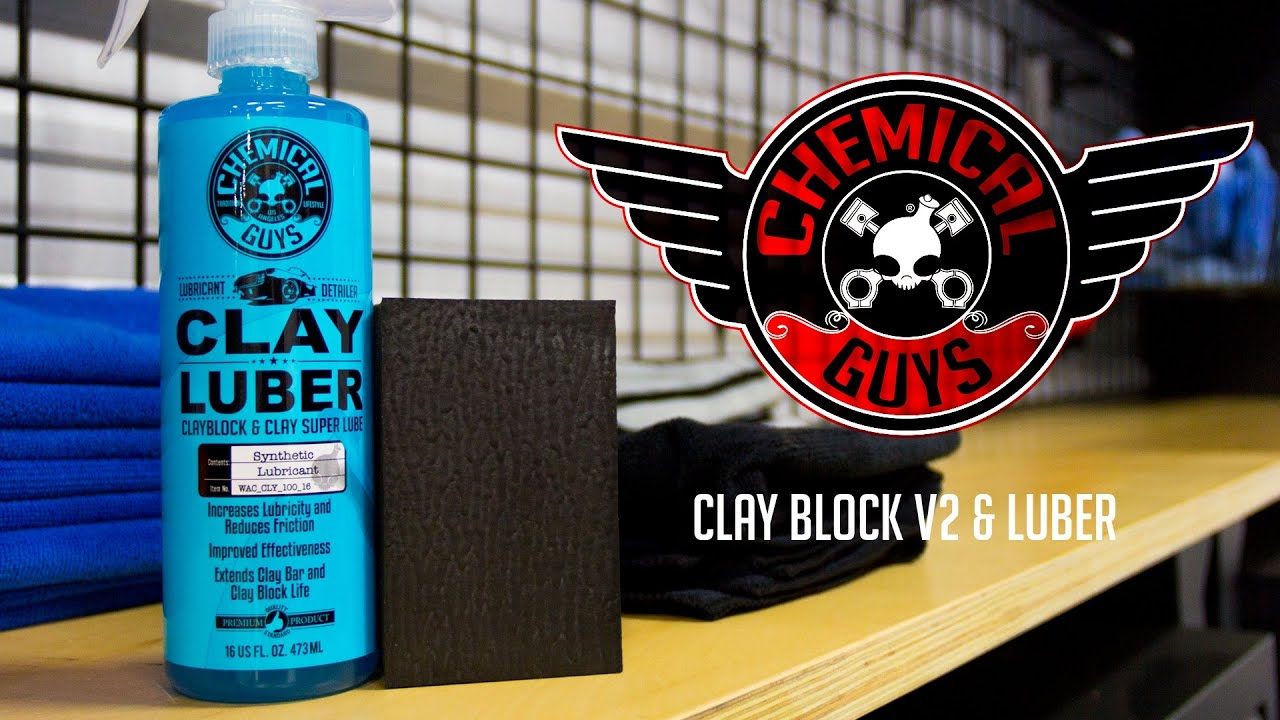 How To Clay Your Car - Chemical Guys Clay Block