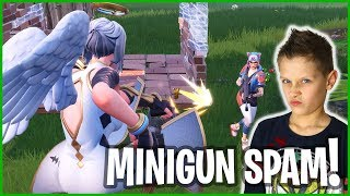 THIS IS HOW YOU MINIGUN SPAM! NEW ARK SKIN :)