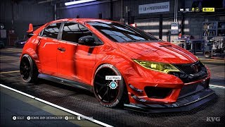 Need for Speed Heat - Honda Civic Type-R 2015 - Customize | Tuning Car (PC HD) [1080p60FPS]