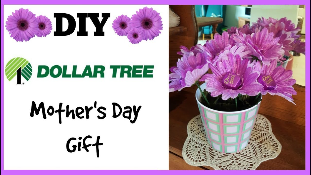 diy dollar tree mother's day gift idea, Natural flower